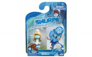 Set 2 Strumfi  Smurfette si Smurfblossom
