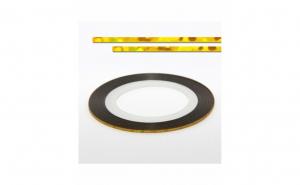 Banda decorativa unghii - Laser Golden