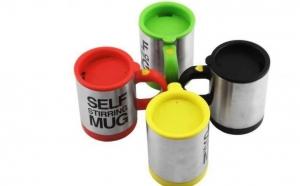 Cana Self Stirring Mug, la 47 RON in loc de 94 RON