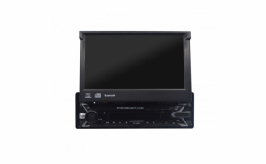Radio Mp5 Player 1DIN cu ecran de 7 inch retractabil, Bluetooth, PhoneLink