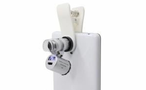 Microscop pentru camera telefon, putere marire 60x, 1.3mp, la doar 39 RON in loc de 97 RON! Garantie 12 luni!
