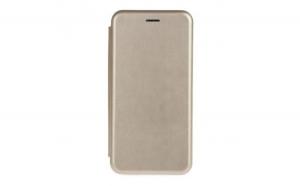 Husa Apple iPhone X Air Noble cu Inchidere Magnetica Auriu