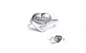 Inel argint 925 inima INE648