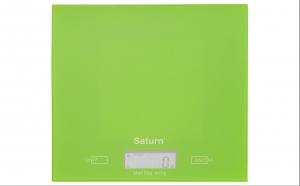 Cantar de bucatarie Saturn ST-KS7810, display LCD, 5 kg, precizie 1 g,disponibil in  mai multe variante de culori, la doar 36 RON in loc de 49 RON
