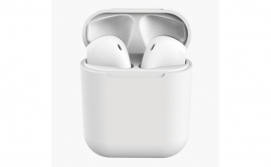 Casti Bluetooth MRG L-inPods 12, Cu carcasa, Handsfree, Alb C378