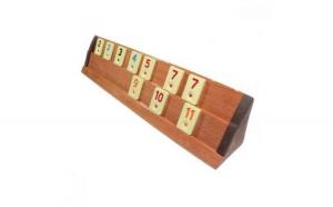 Joc de Remi din lemn masiv tip lacuit