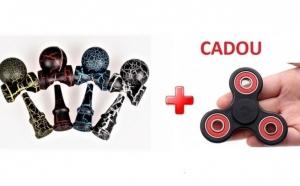 Kendama + jucarie antistres cadou, la doar 56 RON in loc de 135 RON
