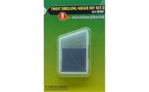 Twist Drilling Auger Bit set (#2 1.0-1.7 mm)