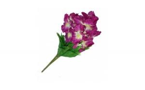 Buchet de irisi artificiali pentru decor, 57 cm, mov