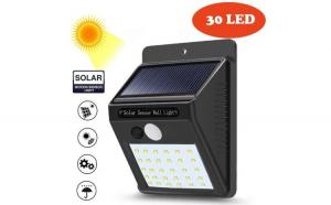 Lampa solara de perete cu senzor de
