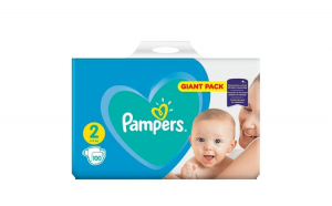 Scutece Pampers New Baby 2 Giant Pack
