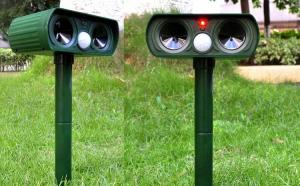 Aparat solar cu ultrasunete pentru animale si pasari