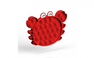 Jucarie antistres din silicon, Pop it now, forma Crab