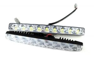 Lumini de zi DRL COB P9S lumina alba 12V