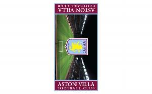 Prosop de baie din bumbac 70x140 cm ORIGINAL Aston Villa, la doar 79 RON redus de la 220 RON