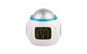 Ceas digital muzical cu proiectie stelute, LCD 1.96 inch, calendar, alarma