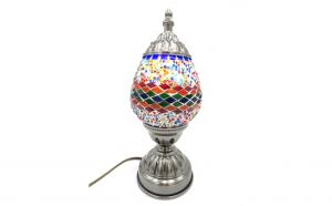 Veioza mozaic din sticla lucrat manual