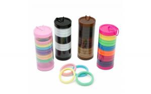 Set inele pt. par in cutie cilindrica,