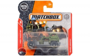 Masinuta metalica Sahara Sweeper Matchbox