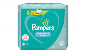 Servetele umede Pampers Fresh Clean