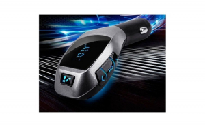 Transmitator Bluetooth wireless, Fm Radio, adaptor FM, modulator muzica Handsfree Mp3 Player, audio USB - X5, tehnologia CVC