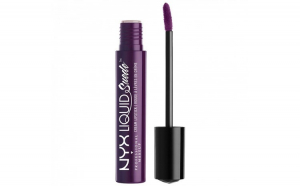 Ruj lichid mat NYX Professional Makeup Liquid Suede Cream, 19 Subversive Socialite, 4 ml