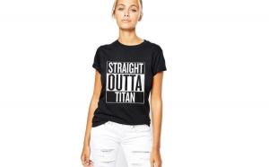 Tricou dama negru -
