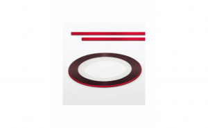 Banda decorativa unghii - Red