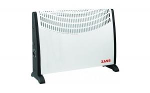 Convector electric Zass ZKH 02, 2000 W,, Zass