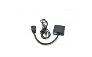 Adaptor Convertor HDMI Tata - VGA Mama Si Audio - ElectroAZ®