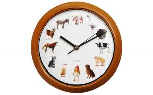 Ceas perete 12 sunete de animale la fiecare ora exacta
