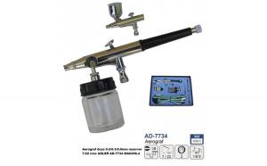 Aerograf duza 0.2/0.3/0.5mm rezervor