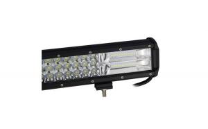 Led bar 324w+kit cabluri cu releu si buton lumina 7d lumina spot si flood alimentre 12-24w
