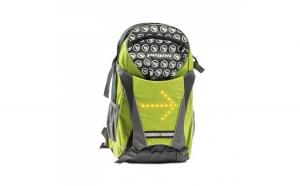 Rucsac Pegas cu Semnal Luminos, Verde/Gri