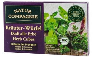 Cuburi bio cu verdeturi de Provence NATUR COMPAGNIE