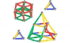 Set de constructie magnetic 3D,  37