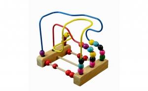 Labirint circuit bile lemn, Black Friday, Universul copiilor