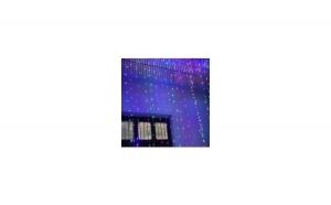 Instalatie de Craciun tip perdea cu 448 leduri multicolore 3x2.5m