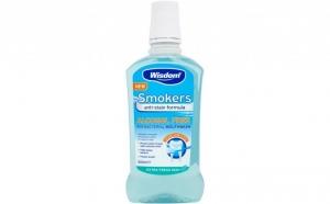 Apa de Gura speciala pentru fumatori Wisdom 500ml, la 16.99 RON in loc de 24.99 RON