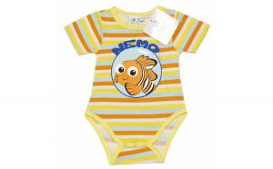 Body Nemo, galben, bebelusi, 60 cm