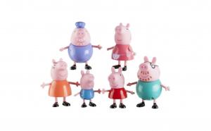 Set figurine Peppa Pig - 6 Personaje