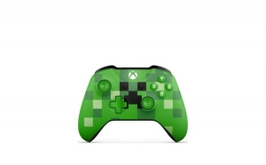 Joc Microsoft Wireless Controller Minecraft Cre Microsoft Wireless Controller Minecraft Creeper Limited Edition Pentru Xbox One