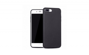 Husa Apple iPhone 7 X-LEVEL Guardian 3D Material Soft, Super Slim - Neagra