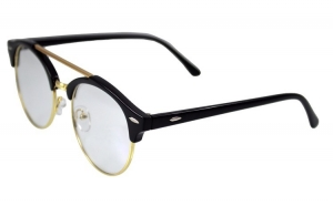 Ochelari - Rame cu lentile transparente Retro Round