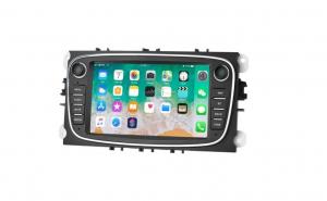 Navigatie dedicata cu Android pentru Ford Mondeo, Focus S Max, 1GB RAM culoare plastic GRI