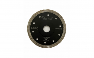 Disc pentru taiat gresie, faianta, piatra premium, 125 x 1.2 x 22.2 mm 12.000 rpm negru