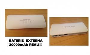 Baterie externa 20000mAh Reali