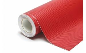Folie carbon 3D rosie 1 m X 1.5m