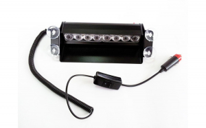Lampa stroboscopica TL109 8W parbriz