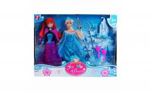 Set 2 papusi Ana si Elsa din Frozen